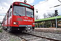 (Parador Mendoza) Siemens–Duewag U2 ingresando a estacion (12).JPG