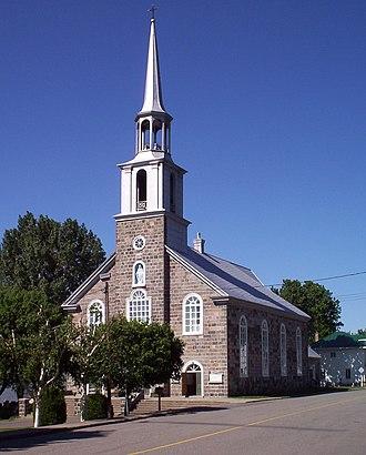 Notre-Dame-du-Portage, Quebec - Image: Église Notre Dame du Portage