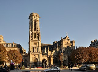 Saint-Germain lAuxerrois church located in Paris, in France