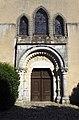 Église Saint-Maurice de Saint-Maurice-sur-Aveyron (Loiret)- Portail.jpg