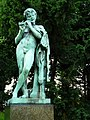 Ørstedsparken - Satyr playing the flute.jpg