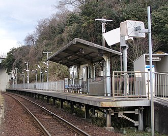 Ōkawachi Station - Ōkawachi Station in March 2008