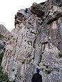 Ελλάδα Υμηττός, αναρρίχηση βράχου σε ασφαλισμένο πεδίο ΕΟΣ Ηλιούπολης 2019.jpg