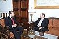 Συνάντηση ΑΝΥΠΕΞ, κ. Δ. Δρούτσα, με τον Πρέσβυ της Ελβετίας, κ. Paul Koller-Hauser (4963023587).jpg