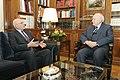 Συνάντηση ΥΠΕΞ Σ. Δήμα με τον Πρόεδρο της Δημοκρατίας (6620662353).jpg