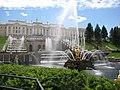 Большой каскад и Большой Петергофский дворец.jpg