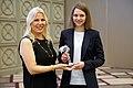 Вручение Анне Музычук женского шахматного Оскара «Каисса».jpg