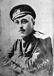 Alexander Dutov Russian general