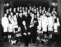 Забейда-Суміцкі, Галкоўскі разам з удзельнікамі хору Беларускага студэнцкага саюза.jpg