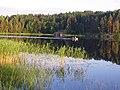 Залив Хелмелянселька. Вечернее солнце - panoramio.jpg