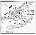 Карта к статье «Горгони». Военная энциклопедия Сытина (Санкт-Петербург, 1911-1915).jpg