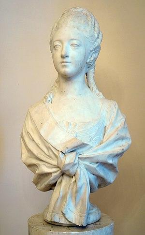 Marie-Anne Collot - Image: Колло Портрет великой княгини Натальи Алексеевны