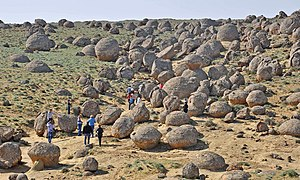 Concretion - Concretions in Western Kazakhstan
