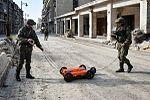 ОКО-2 с антенной АБ-150 - Разминирование жилых кварталов Алеппо военными инженерами Международного противоминного центра ВС РФ.jpg