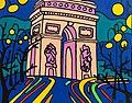 Париж.Елисейские поля.2008.80ч100,х.м..jpg