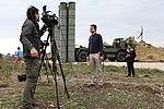Работа российских и иностранных СМИ на авиабазе «Хмеймим» в Сирии (27).jpg