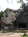 Табір опришків - скельно-печерний комплекс - скелі Довбуша.jpg