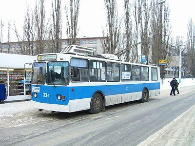 месяцы работы троллейбусов