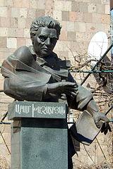 Bust of Aram Khachtryan
