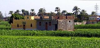 Abu Tig Place in Asyut, Egypt