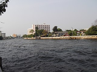 Khlong Om Non Canal in Greater Bangkok, Thailand