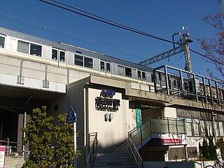 Takaido Station railway station in Suginami, Tokyo, Japan