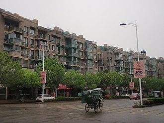 Changshan County - Image: 常山人民路上 panoramio (1)