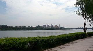 Guo River river in Peoples Republic of China