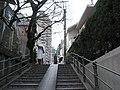 階段「けど一つ路地入ると随分静かなんじゃな」(瀬尾公治 君のいる町 第3巻 P.136) - panoramio.jpg