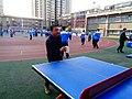 雁塔 陕师大附中分校在打乒乓球 13.jpg