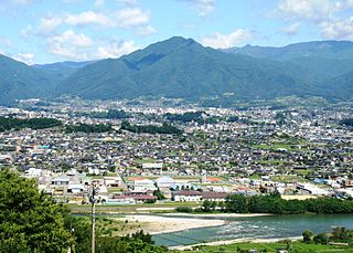City in Chūbu, Japan