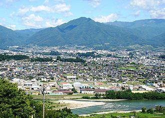 Iida, Nagano - Overview of Iida City