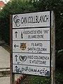 009 Can Collblanc, c. Alps, 4-6 (Santa Coloma de Gramenet), rètol.jpg