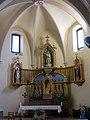 018 Església de la Nativitat (Cabacés), absis i altar major.JPG