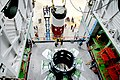 01 hoisting of nozzle end segment of pslv-c42 first stage over launch pedestal.jpg