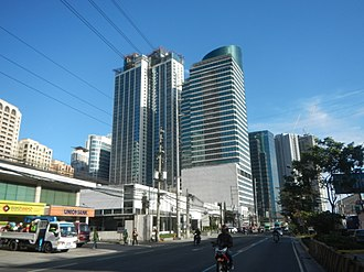 Quezon City - Eastwood City is a mixed-use township development located in the Bagumbayan area.
