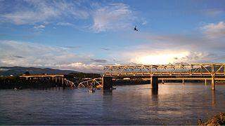 I-5 Skagit River Bridge collapse Road bridge collapse in Mount Vernon, Washington