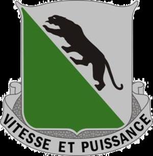 69th Armor Regiment - Image: 069 Armored Regiment DUI