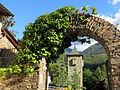 081 Casa de la Vall (Andorra la Vella), portal exterior nord i torre.JPG