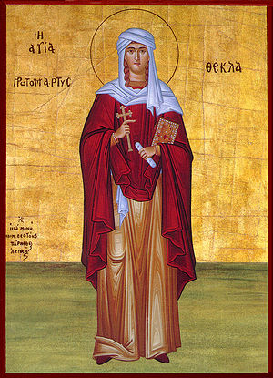 September 24 (Eastern Orthodox liturgics) - Image: 0924Thecla