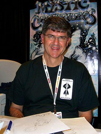 Rick Leonardi - Leonardi at the 2012 New York Comic Con.