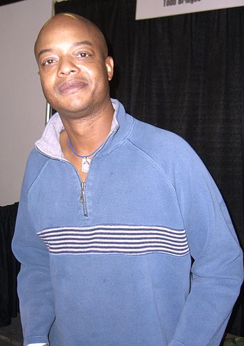 English: Actor Todd Bridges at the Big Apple C...