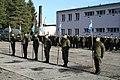 102 batalion ochrony. Wręczenie proporców.jpg