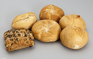 Bread roll - Typical Austrian bread rolls