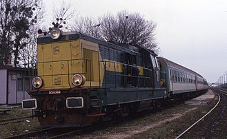 PKP class SP32 - Image: 13.11.94 Zawada SP32 062 (5931277587)