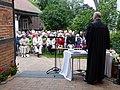 14. Glockenweihe durch Pastor Ebel.JPG