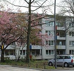 Gefionstraße in Hamburg