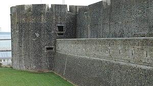 Faussebraye - Faussebraye of Château de Brest