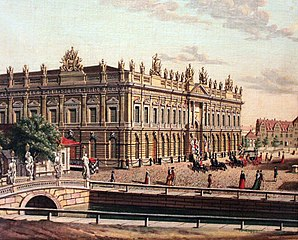 Berlin: View of the Armory and the Opera Bridge