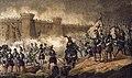 1853, Los mártires de la libertad española, vol I, Acuña en el sitio de Valdepero (cropped).jpg